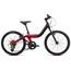 "ORBEA Grow 2 7V - Vélo enfant - 20"" rouge/noir"